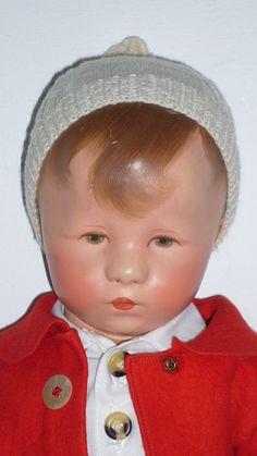Alte KÄTHE KRUSE Puppe, seltenes Hampelchen XII/I, Stoffkopf 1949-52 | eBay