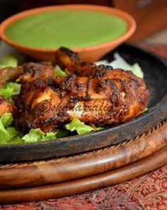 Love To Cook: Tandoori Chicken Tandoori Masala Powder Halal Recipes, Indian Food Recipes, Ethnic Recipes, Eid Recipes, Indian Snacks, Recipies, Chicken Tikka, Indian Chicken, Chicken Curry