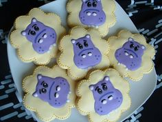Hippo Cookies  1 dozen by SweetArtSweets on Etsy, $42.00