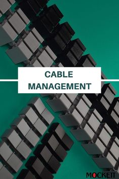 Managing your cable shouldn't be difficult. We provide cable management solutions to conceal wires in the best way possible. Check out our page! Wire Management, Cable Management, Check, Cord Management
