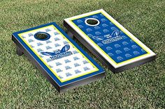 Southern Connecticut State Owls Cornhole Game Set Border Version 2 * Want additional info? Click on the image.