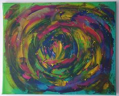 """""""Portal"""" Portal, Painting, Business, Abstract, Canvas, Painting Art, Creative, Deco, Kunst"""