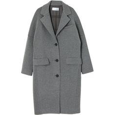 ドルマンチェスターコート found on Polyvore featuring women's fashion, outerwear, coats, jackets, clothing - outerwear and coats & jackets
