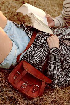 """Echtleder Gusti Leder Umhängetasche """"Emilia 7"""" Vintage-Style H3  IMG_9919"""