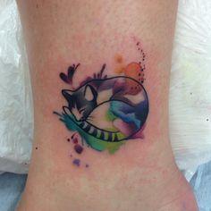 Cute cat tatto Makkala Rose