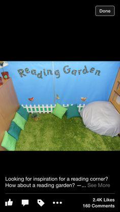Reading garden!!!