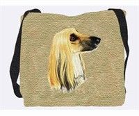 "Afghan Hound Tote Bag: ""Our Afghan Hound Tote Bag makes a wonderful accessory for anyone who shares… #PetProducts #PetGifts #AnimalJewelry"