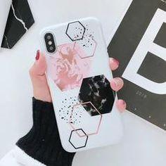 Geometric Marble Phone Case