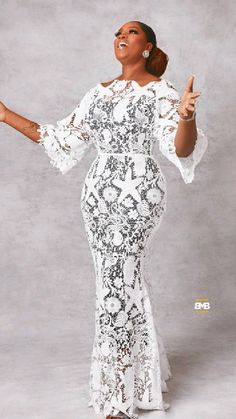 African Lace Dresses, African Wedding Dress, Aso Ebi Styles, Ankara Styles, African Fashion Traditional, Shoe Wardrobe, Evening Dresses, Formal Dresses, Latest Fashion