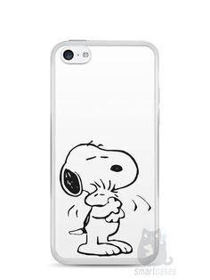 Capa Iphone 5C Snoopy #2 - SmartCases - Acessórios para celulares e tablets :)