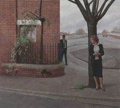 Harry Holland James Street, Oil on. Classic Paintings, Beautiful Paintings, How To Draw Tears, National Museum Of Wales, Tate Gallery, Urban Life, London Art, Figure Painting, Contemporary Artists