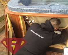 Hot Tub Repair Man offer a fast repair service for hot tubs and spas in the UK. Based in Nottingham, we cover the Midlands and beyond. Call 0115 871 See our plans. Hot Tub Service, Men Spa, Hot Tubs, Nottingham, Spas, About Uk, Amanda, How To Plan, Cover
