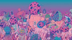 You can't help but get lost in the psychedelic, alien worlds that artist Bang Sangho creates. We talk to him all about his giant microscopic-inspired planets, the K-pop art he's created, and about the art scene in South Korea.