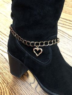 Western Bling Rhinestone Crosses Boot Chain//Anklet//Bracelet Red Crystals