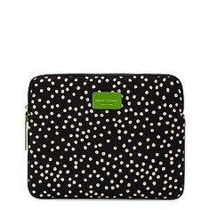 Kate Spade iPad case - Love it!! Bright green interior makes me happy. :-)