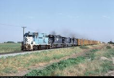 RailPictures.Net Photo: 4335 Missouri Pacific EMD GP38-2 at Burleson, Texas by Paul F. De Luca