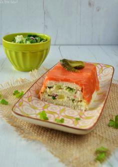 receta pastel de salmón