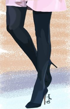 #draw #drawing #shoes #highheels #black #suede #stiletto #samsungsnote