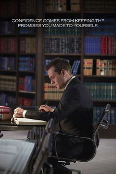 Suits is over, But these 56 Harvey Specter quotes will forever motivate you Trajes Harvey Specter, Harvey Specter Suits, Suits Harvey, Suits Quotes Harvey, Motivational Quotes For Success, Positive Quotes, Inspirational Quotes, Harvey Spectre Zitate, Harvey Spectre Quotes
