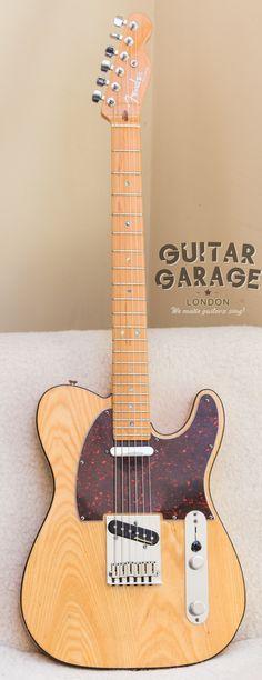 1999 Fender American Deluxe Ash Telecaster Más