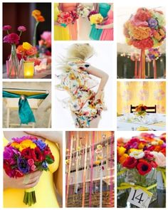 Always Andri Wedding Design Blog: Colour Inspiration: Spring Pastels Yellow, Coral, Teal & Pink
