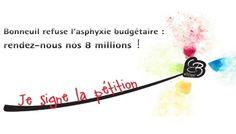 Pétition : Bonneuil refuse l'asphyxie budgétaire !
