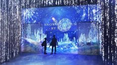 Tokyo's hi-tech aquarium gets a snow theme for winter