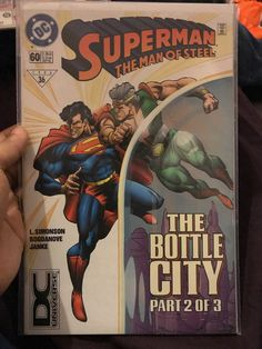 Superman The Man of Steel Comic - Issue 60