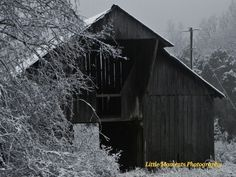 Barns, Old, Digital, Download, Winter, Photo, Photography, Arkansas, Art, Collectibles by LittleMomentsPhotos on Etsy