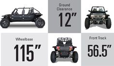Buy a Reeper - Most versatile UTV and off-road vehicle