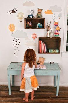 Cute kids room.