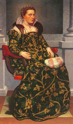 Title: (Image 9) 1553 Isotta Brembatti Artist: Giovanni Battista Moroni Date: 1552 - 1553