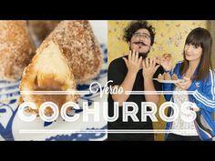 Coxurros – Coxinha de Churros | Vídeos e Receitas de Sobremesas