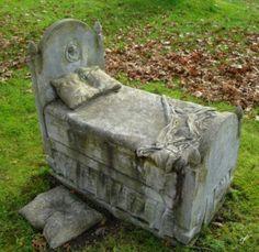 Mount Auburn Cemetery, Boston. Tiny soul gone to soon