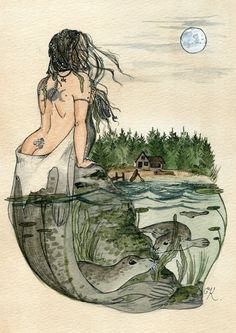 The Selkie by Kitty-Grimm.deviantart.com on @deviantART