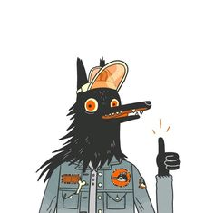 My Patreon reached its 400 milestone last night! What we'll have in store now are patches. Wear your favorite characters on your jacket, show everyone that you like Sad Dog Comics! And don't forget those of you who will be in the. Art And Illustration, Character Illustration, Art Illustrations, Pretty Art, Cute Art, Sketch Manga, Dog Comics, Character Design Inspiration, Creature Design