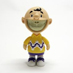 The Outsiders | Ron English | Grin Limited Edition Toy (Charlie Brown)