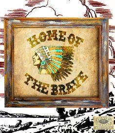 Native American print navajo southwest indian antique vintage rustic americana folk art print wallart decor graphic type sign poster 8X10