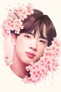 "appreciate kim seokjin noxiim: "" Happy birthday to our Mr. Cute Funny Pics, Really Funny Pictures, Bts Pictures, Photos, Dark Souls, Dark Fantasy, Seokjin, Fanart Kpop, Jungkook Fanart"