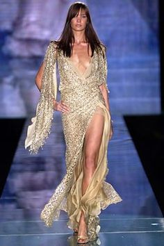 Elie Saab Spring 2003 Couture Fashion Show - Nicole Witte (KARIN)