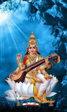 Shri Ganesh Images, Durga Images, Ganesha Pictures, Lord Murugan Wallpapers, Lord Krishna Wallpapers, Saraswati Goddess, Shiva Shakti, Saraswathi Pooja, Maa Durga Photo
