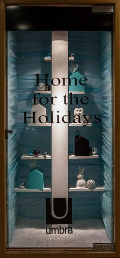Holiday Window Displays 2014. Visual Merchandising Arts, School of Fashion at Seneca College.