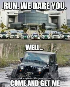 All My friend with jeep wrangler stop me all the time and ask me where I got it! Auto Jeep, Jeep Meme, Jeep Jokes, Jeep Humor, Car Jokes, Jeep Cars, Jeep Truck, Car Humor, Jeep Funny