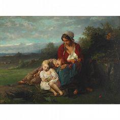Henry Campotosto (1833 – 1910) – Pintor Belga_2