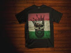 d8f2ac3c MEXICAN SKULL FLAG KING Short-Sleeve Unisex T-Shirt