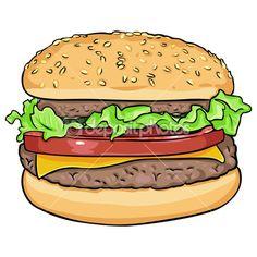 49 Best Cartoon Hamburgers Images Hamburgers Bedding