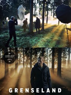 """A Famous BTS Magazine Feature. Behind the scenes with Tobias Santelmann @santelmann for the upcoming crime drama tv series """"Grenseland""""."""