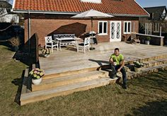 no Pergola, Deck, Yard, House Design, Building, Outdoor Decor, Home Decor, Woodworking Ideas, Outdoors