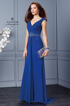 Alyce Paris Mother of the Bride - 29753 Dress in Royal