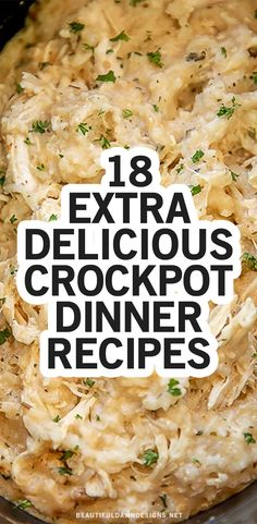 Crockpot Dishes, Crock Pot Slow Cooker, Crock Pot Cooking, Slow Cooker Recipes, Crockpot Recipes, Chicken Recipes, Slow Cooker Easy Meals, Cooking Recipes, Instant Pot Dinner Recipes